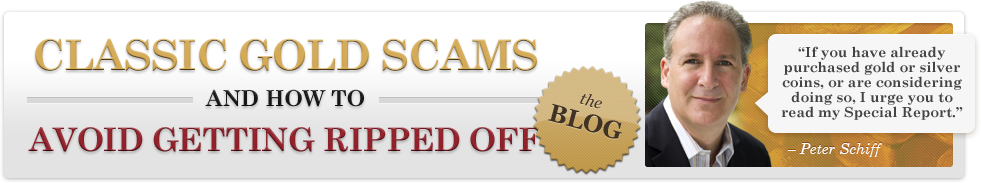 Gold Scams Blog